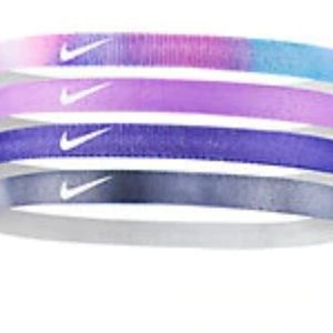 Nike girls printed headband 4 pack